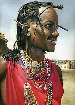 Masai Warrior by Rich Marks