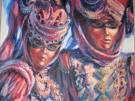 Masquerade by Ekaterina Pozdniakova