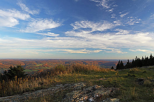 Juergen Roth - Massachusetts Scenic View from Mount Greylock