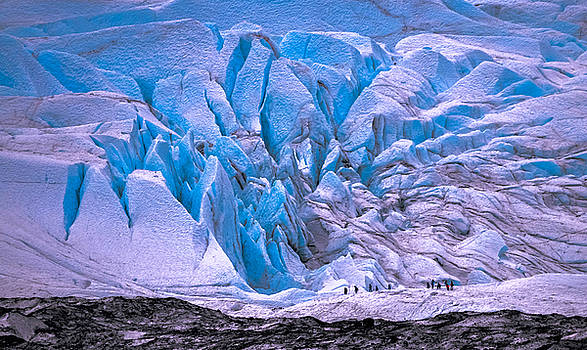 Matanuska Glacier by Brian Stevens