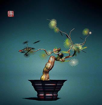 Math Bonsai 3 by GuoJun Pan