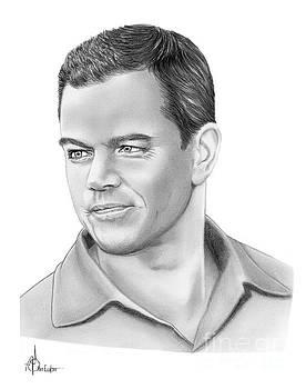 Matt Damon by Murphy Elliott