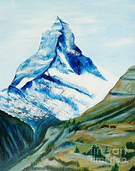 Matterhorn in Switzerland by Christine Huwer