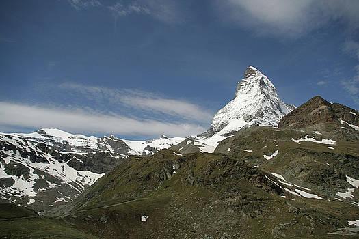 Matterhorn with Alpine Landscape by Christine Amstutz