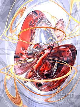 Matters of the Heart Abstract by Alexander Butler
