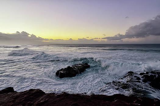 Maui Beach Sunset by Steven Michael