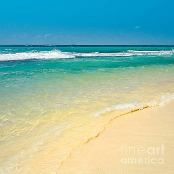 Maui Beaches Into The Blue by Sharon Mau