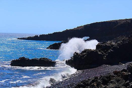 Maui Island Cove by Michael Rucker