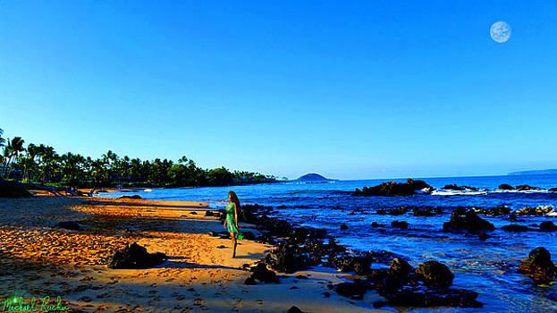 Maui Sunrise on the Beach by Michael Rucker