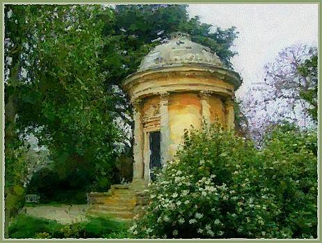 Mausoleum in London by Mindy Newman