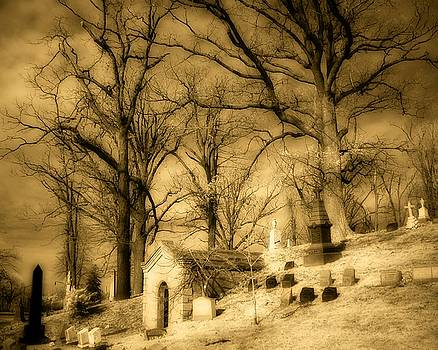 Mausoleum On The Hill by Gothicrow Images