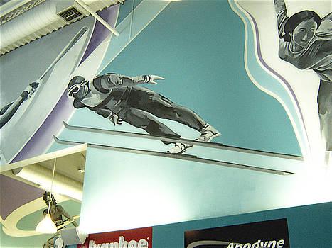 Maximum Fitness Ski Jumper detail by Tim  Heimdal