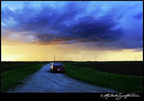 May Storm at Dusk by Melinda Swinford