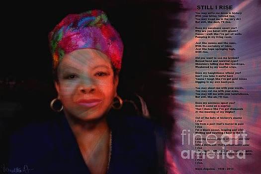 Maya Angelou by Vannetta Ferguson