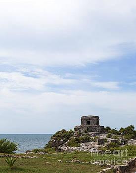 Mayan Ruins along the Caribbean Sea Coast by Brandon Alms