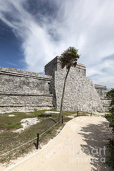 Mayan Ruins in Tulum Mexico by Brandon Alms