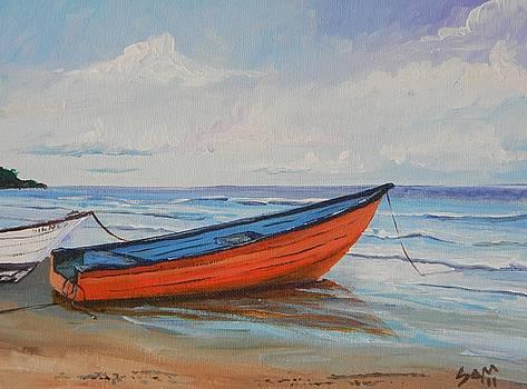 Mayaro Boats by Samantha Rochard