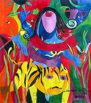 Mayee Durga by Jakeer Hussain
