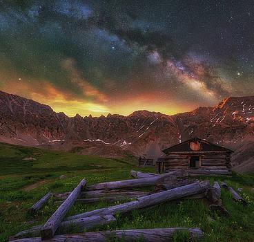 Mayflower Milky Way by Darren White