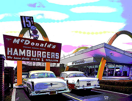 McDonald's Chicago by Charles Shoup