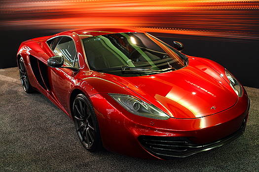 McLaren MPH-12C Sportscar by Wingsdomain Art and Photography