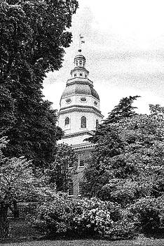 MD State House - BW by Brian Wallace