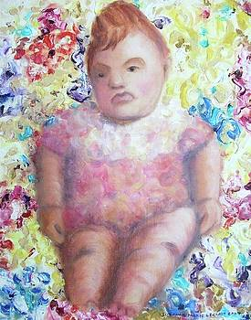 Suzanne  Marie Leclair - Me as Fat Baby