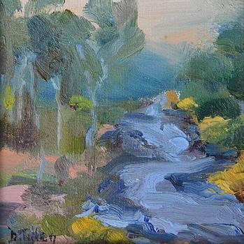 Meandering River by Donna Tuten