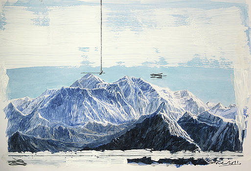 Measuring mountains by Andrew Crane