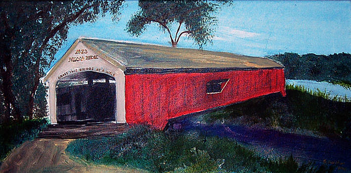 Mecca Covered Bridge by Andrea Harston