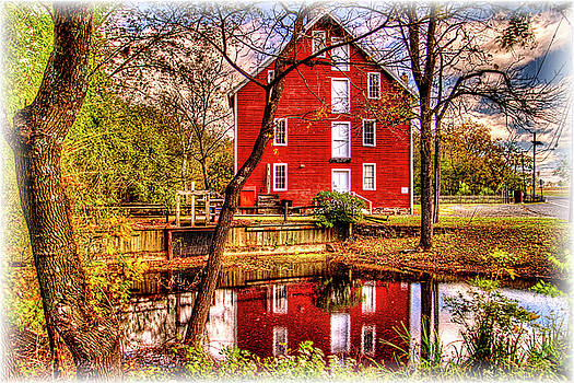 Medford NJ grist mill  by Geraldine Scull