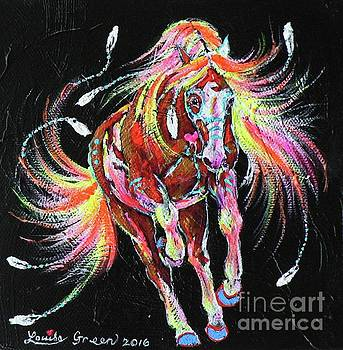 Medicine Fire Pony by Louise Green