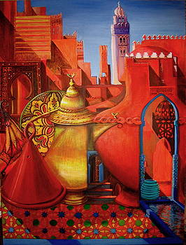 Yvonne Ayoub - Medina Marrakesh