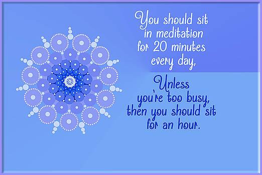 Daily Meditation by Lori Grimmett