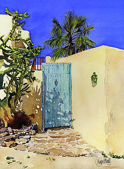 Mediterranean Blue by Margaret Merry