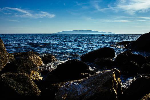 Mediterranean Sea - Argentario by Cesare Bargiggia