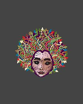 Medusa with Transparent Background by R  Allen Swezey