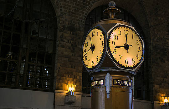 Meet Me At The Clock by Jim Markiewicz