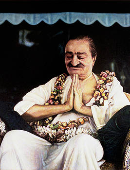 Meher Baba 2 by Nad Wolinska