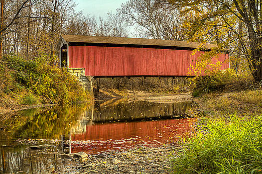 Jack R Perry - Melcher/Klondyke/Marion covered bridge