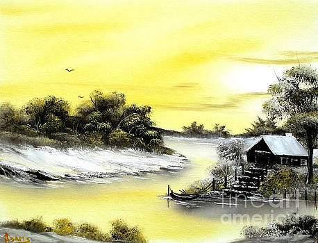 Mellow Yellow Sold by Cynthia Adams