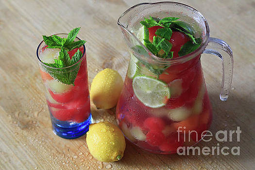 Melon Ball Summer Punch by Tracy Hall