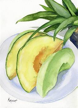 Melon Color Baby by Marsha Elliott