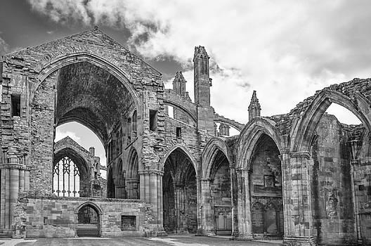 Melrose Abbey by Elvira Butler