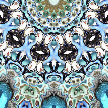 Melting Colors In Symmetry by Phil Perkins