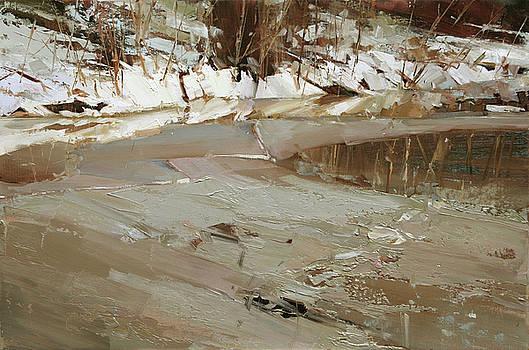Melting Ice by Tibor Nagy