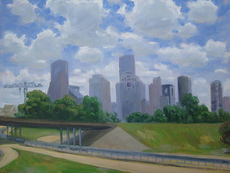 Memorial Drive Morning by Texas Tim Webb