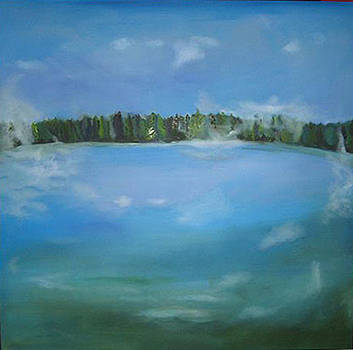 Memory of a Lake by Judy  Blundell