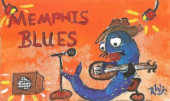 Memphis Blues by Robert Wolverton Jr