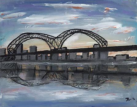 Memphis Bridge by Davis Elliott